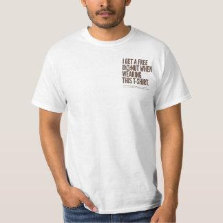 Camiseta libre de la luz del buñuelo de Paul Playeras