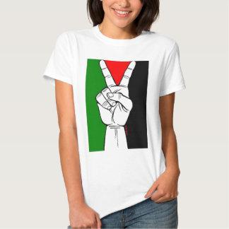 Camiseta libre de Palestina (para las mujeres) Playeras