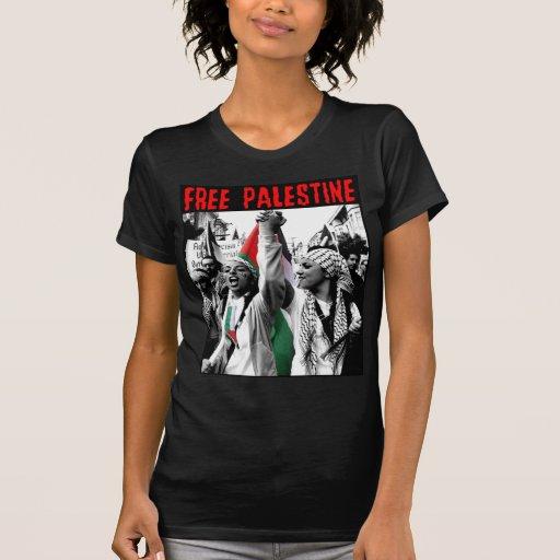 Camiseta libre de Palestina Playera
