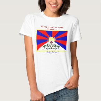 Camiseta libre de Tíbet Remera
