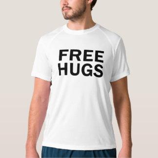 Camiseta libre del funcionamiento de los abrazos - remeras