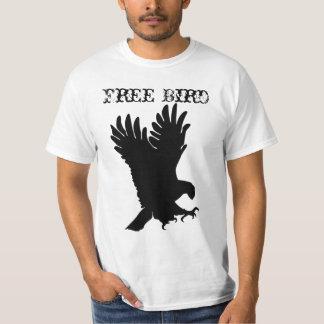 Camiseta libre del pájaro