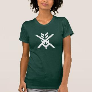 Camiseta libre del pictograma del gluten