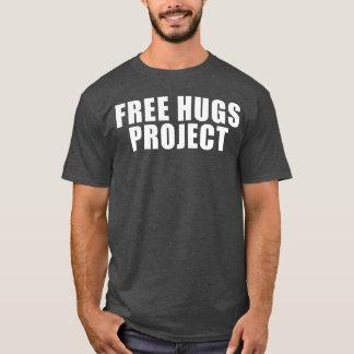 Camiseta libre del texto del proyecto de los