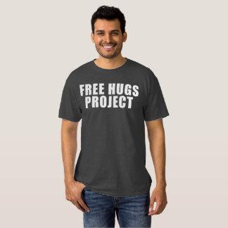 Camiseta libre del texto del proyecto de los polera