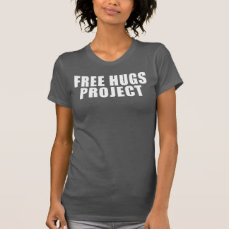 Camiseta libre del texto del proyecto de los remeras
