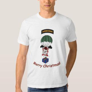 Camiseta ligera aerotransportada de Santa Playera