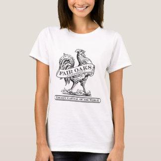 Camiseta ligera capital del pollo (mujeres)