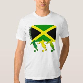Camiseta ligera de Jamaica del fútbol Remeras