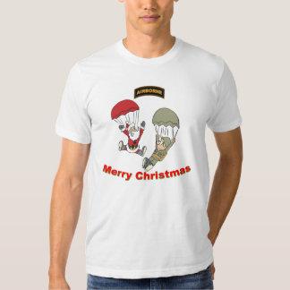 Camiseta ligera de Santa II aerotransportado Poleras