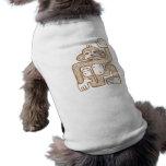 Camiseta ligera del mono camisetas de perrito