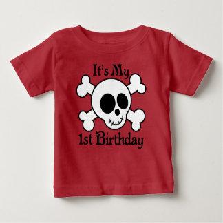 Camiseta linda de Childs del cumpleaños de la