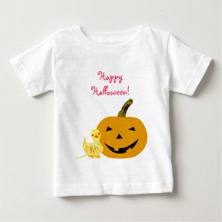 Camiseta linda de Halloween: Anadón y linterna de Playera Para Bebé