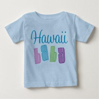 Camiseta linda de Hawaii del bebé Poleras