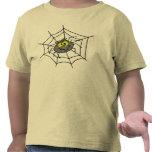 Camiseta linda de la araña