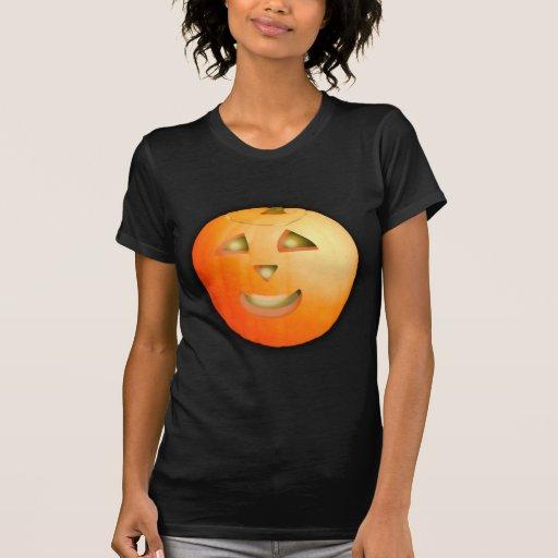 Camiseta linda de la calabaza de Halloween