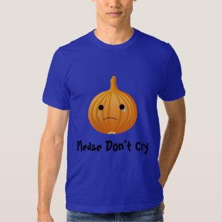 Camiseta linda de la cebolla playeras