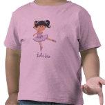 Camiseta linda de la estrella del ballet de la bai