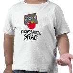 Camiseta linda de la graduación de la guardería