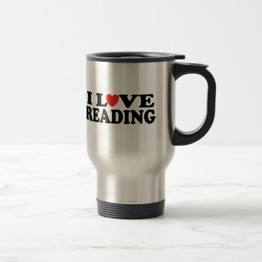Camiseta linda de la lectura del amor de I Taza
