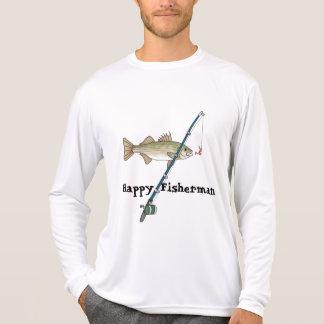 Camiseta linda de la pesca del día de padres para