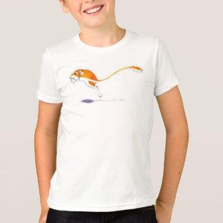 Camiseta linda de la rata camisas