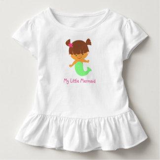 Camiseta linda de la sirena playera de niño