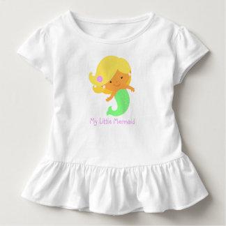Camiseta linda de la sirena remeras