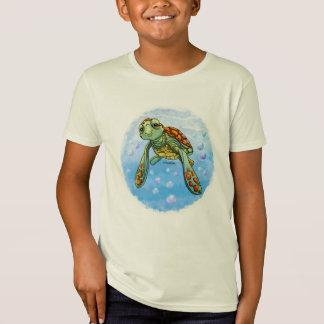 Camiseta linda de la tortuga de mar remera