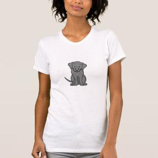 Camiseta linda de Labrador del perro del dibujo Playeras