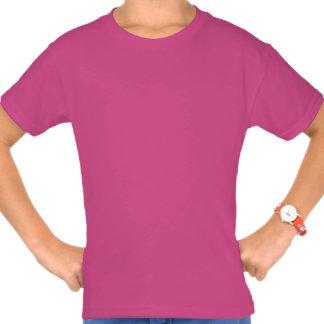 Camiseta linda de los chicas del arco iris del remera