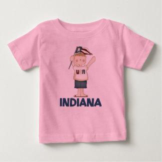 Camiseta linda de los niños de Indiana los