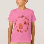 Camiseta linda de los niños de la mandala de los