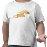 Camiseta linda de los niños del potro del Palomino