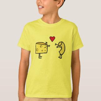 Camiseta linda del amor del mac y del queso