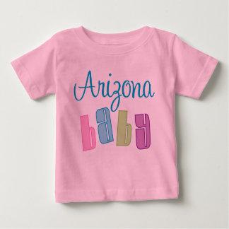 Camiseta linda del bebé de Arizona Camisas
