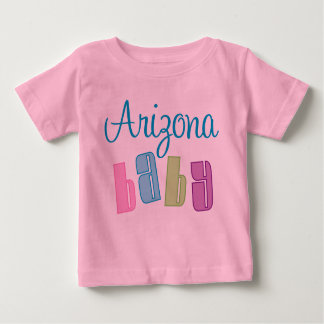 Camiseta linda del bebé de Arizona