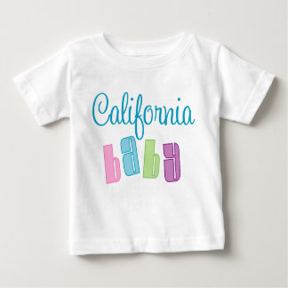 Camiseta linda del bebé de California