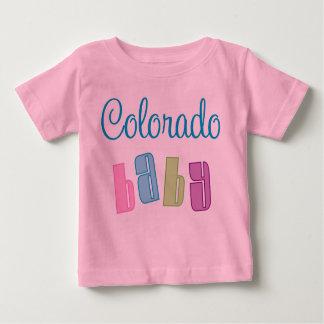 Camiseta linda del bebé de Colorado