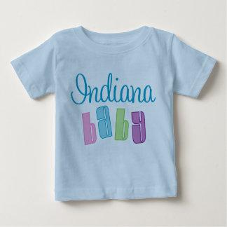 Camiseta linda del bebé de Indiana