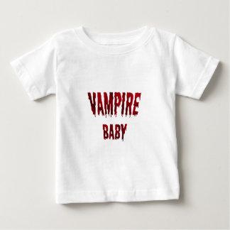Camiseta linda del bebé del vampiro playera