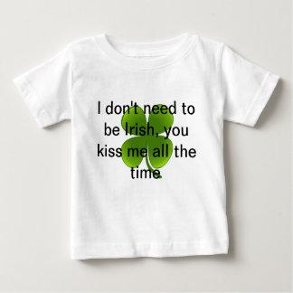 Camiseta linda del bebé para el día de St Patrick