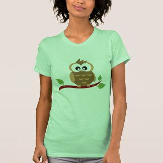 Camiseta linda del búho
