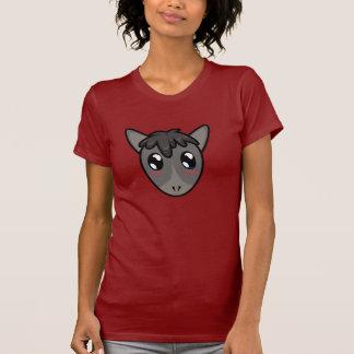 Camiseta linda del burro de Lil