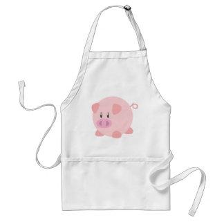 Camiseta linda del cerdo, camisetas, regalos del c delantales