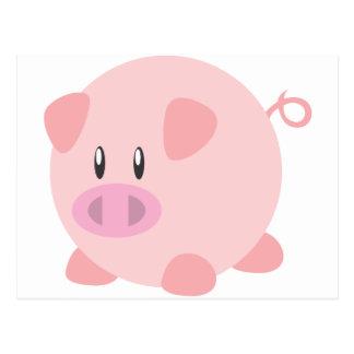 Camiseta linda del cerdo, camisetas, regalos del c tarjetas postales