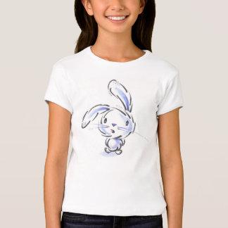 Camiseta linda del conejito