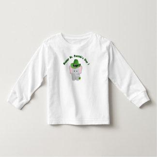 Camiseta linda del elefante del bebé del día de St