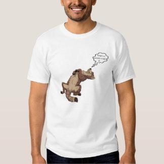 camiseta linda del lobo playeras