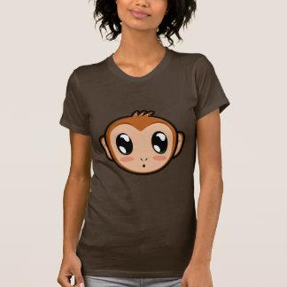 Camiseta linda del mono de Lil